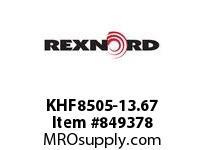 REXNORD KHF8505-13.67 KHF8505-13.67 KHF8505 13.67 INCH WIDE MATTOP CHAI