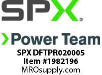SPX DFTPR020005 TWL/LDF2 Right S/plate (Head 5)