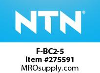 NTN F-BC2-5 MINIATURE BALL BRG D<9