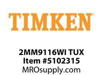 TIMKEN 2MM9116WI TUX Ball P4S Super Precision