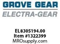 Electra-Gear EL8305194.00 EL-T830-30-D-A