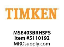 TIMKEN MSE403BRHSFS Split CRB Housed Unit Assembly
