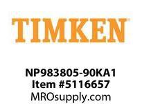 TIMKEN NP983805-90KA1 TRB Single Assembly 24-36 OD