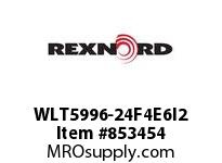 REXNORD WLT5996-24F4E6I2 WLT5996-24 F4 T6P N2 WLT5996 24 INCH WIDE MATTOP CHAIN W