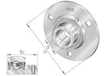 INA RA20 Round flanged unit