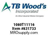 TBWOODS 1080T11116 1080TX1-11/16 G-FLEX HUB