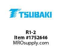 US Tsubaki R1-2 R1-2 SPLIT TAPER BUSHING
