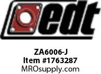 EDT ZA6006-J SS RADIAL BALL BRG W/ FG SOLID LUBE