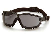 Pyramex GB1820ST Black Frame/Gray Anti-Fog Lens