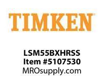 TIMKEN LSM55BXHRSS Split CRB Housed Unit Assembly