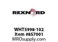 REXNORD WHT5998-102 WHT5998-102 WHT5998 102 INCH WIDE MATTOP CHAIN
