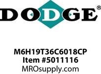DODGE M6H19T36C6018CP MTA SIZE 619:1360 C-FACECECP4314T GEAR PRODUCTS