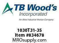 TBWOODS 1030T31-35 1030T31X3.5DBSE G-FLEX HUB