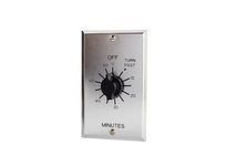 NSI C560M 60 MIN TWIST TIMER WITH METAL WALLPLATE