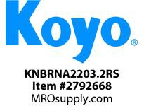 Koyo Bearing RNA2203.2RS NEEDLE ROLLER BEARING