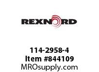 REXNORD 114-2958-4 KU1500-15T 25MM KW2SS KU1500-15T SOLID SPROCKET WITH 25MM