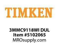 TIMKEN 3MMC9118WI DUL Ball P4S Super Precision