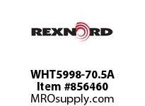 REXNORD WHT5998-70.5A WHT5998-70.5 UNDERSZ ROD