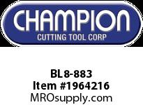Champion BL8-883 CARB TIP LEAD ANGLE TURN TOOL