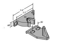 System Plast SF-VLATCH-BK SF-VLATCH-BK FRAMES/GUARDING