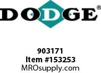 DODGE 903171 MTA3203H27T 180TC TORQUEARM RED