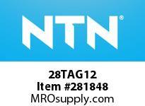 NTN 28TAG12 THRUST BALL BRG