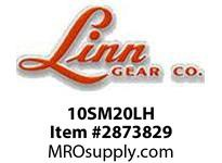 Linn gear 10SM20LH  MTO, LEFT HAND SPIRAL MITER GEAR, CARBURIZED & HARDENED, 58 TO 62 RC, 22MM BORE, 6MM KWY TEETH LAPPED AS SET