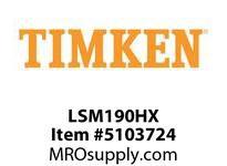 TIMKEN LSM190HX Split CRB Housed Unit Component