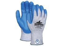 MCR 9672DT5L Memphis Diamond Tech 5 10 Gauge Blue Speckled Dyneema Diamond Technology shell Blue Nitrile Foam Coated Pal