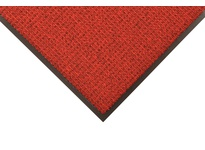 NoTrax 138S0023RB 138 Uptown 2X3 Red/Black Uptown is a high-low looped pile entrance mat that provides functionality for drying and retaining moisture and debris while offering an upscale elegant look. Its 40 ounces of tufted Decalon yarn
