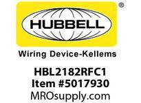 HBL_WDK HBL2182RFC1 RF CTRL HGR SPLT CIRC 20A 5-20R BR