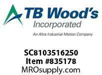 TBWOODS SC8103516250 SC81035-1625 DI SF COUP ASY