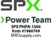SPX PHPA-1500 PUMP-HIGH PRESSURE-AIR 1500 BAR