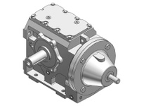 HUBCITY 0250-40451 HW2062ES 64.41 56C 1.500 HELICAL-WORM DRIVE