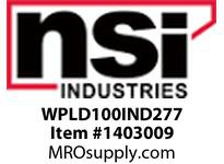NSI WPLD100IND277 LARGE DEEP WALLPACK 100 WATT INDUCTION 277 VOLT