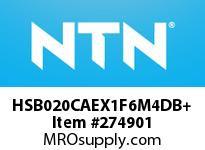 NTN HSB020CAEX1F6M4DB+ PRECISION BALL BRG