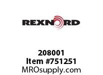 REXNORD 208001 594856 744-8.THP.HUBBO ES