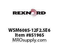 REXNORD WSM6085-12F2.5E6 WSM6085-12 F2.5 T6P WSM6085 12 INCH WIDE MATTOP CHAIN W