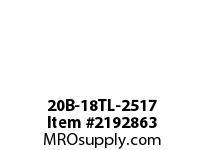 PTI 20B-18TL-2517 METRIC SPROCKET TAPER-LOCK