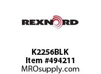K2256BLK END CAP K225-6 BLACK 135192
