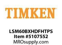 TIMKEN LSM60BXHDFHTPS Split CRB Housed Unit Assembly