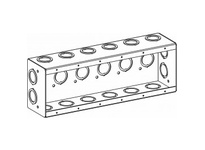 Orbit MSB-6 6-G MASONRY BOX 2-1/2^DEEP