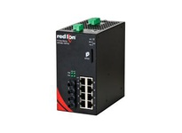 NT24K-10FXE2-ST-40-POE 10-Port Gigabit Managed POE+ Industrial Ethernet Switch (8 10/100/1000BaseT 2 100BaseFX