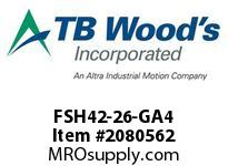 TBWOODS FSH42-26-GA4 CPL FSH42-26-GA4