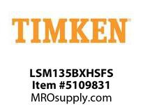 TIMKEN LSM135BXHSFS Split CRB Housed Unit Assembly