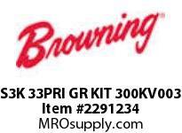 Browning S3K 33PRI GR KIT 300KV003 S3000 ASSY COMPONENTS