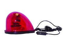 Cortina 22-56526 Teardrop Rotating Halogen Strobe Red 12-Volt Magnetic Mount (case of 6)