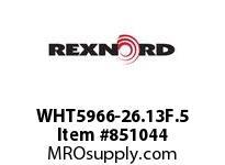 REXNORD WHT5966-26.13F.5 WHT5966-26.13 F.5 T8P WHT5966 26.13 INCH WIDE MATTOP CHAI