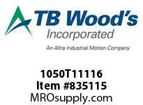 TBWOODS 1050T11116 1050TX1-11/16 G-FLEX HUB