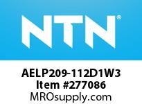 NTN AELP209-112D1W3 MOUNTED UNIT(CAST IRON)